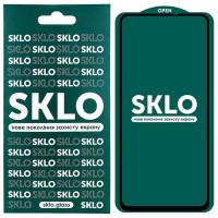 Защитное стекло SKLO 5D (full glue) для Xiaomi Poco X2