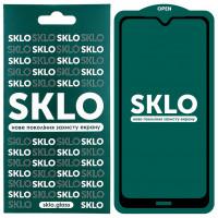 Защитное стекло SKLO 5D (full glue) для Xiaomi Redmi Note 8T