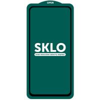 Защитное стекло SKLO 5D (full glue) (тех.пак) для Xiaomi Redmi Note 9 / Redmi 10X /Note 9T/Note 9 5G