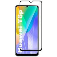 Защитное стекло XD+ (full glue) (тех.пак) для Huawei Y6p