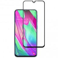 Защитное цветное стекло Mocolo (full glue) на весь экран для Samsung Galaxy A40 (A405F)