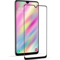 Защитное цветное стекло Mocoson 5D (full glue) для Samsung Galaxy A31