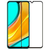 Защитное цветное стекло Mocoson 5D (full glue) для Xiaomi Redmi 9