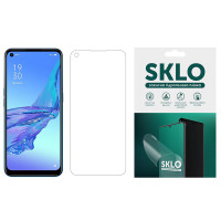 Защитная гидрогелевая пленка SKLO (экран) для Oppo A73 (2017)