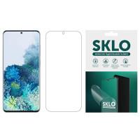 Защитная гидрогелевая пленка SKLO (экран) для Samsung Galaxy A01 Core