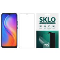 Защитная гидрогелевая пленка SKLO (экран) для TECNO POP 4 Pro