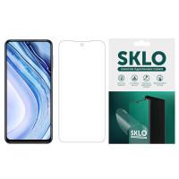 Защитная гидрогелевая пленка SKLO (экран) для Xiaomi Poco X3 NFC / Poco X3 Pro
