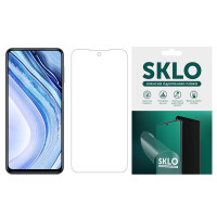Защитная гидрогелевая пленка SKLO (экран) для Xiaomi Redmi Note 6 Pro