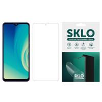 Защитная гидрогелевая пленка SKLO (экран) для ZTE Blade A3 (2019)