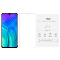 Защитная гидрогелевая пленка SKLO (экран) (тех.пак) для Huawei Honor 9X Pro