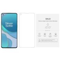 Защитная гидрогелевая пленка SKLO (экран) (тех.пак) для OnePlus Nord N100