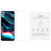 Защитная гидрогелевая пленка SKLO (экран) (тех.пак) для Realme X7 Pro