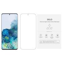 Защитная гидрогелевая пленка SKLO (экран) (тех.пак) для Samsung Galaxy S10