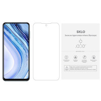 Защитная гидрогелевая пленка SKLO (экран) (тех.пак) для Xiaomi Mi 10T Lite / Redmi Note 9 Pro 5G