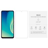 Защитная гидрогелевая пленка SKLO (экран) (тех.пак) для ZTE Blade A7 (2019)