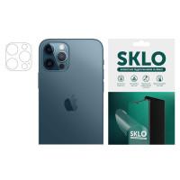 """Защитная гидрогелевая пленка SKLO (на камеру) 4шт. для Apple iPhone 7 plus (5.5"""")"""