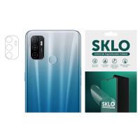 Защитная гидрогелевая пленка SKLO (на камеру) 4шт. для Oppo A15s / A15