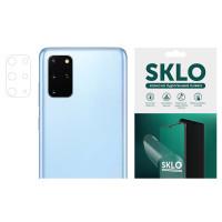 Защитная гидрогелевая пленка SKLO (на камеру) 4шт. для Samsung Galaxy J8 (2018)