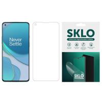 Защитная гидрогелевая пленка SKLO (экран) для OnePlus 8