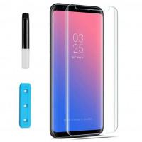 Защитное 3D стекло Nano Optics с УФ лампой для Samsung G955 Galaxy S8 Plus