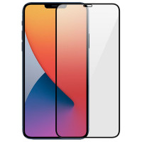 """Защитное цветное 3D стекло Mocoson (full glue) для Apple iPhone 12 Pro / 12 (6.1"""")"""
