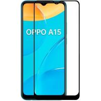 Защитное стекло 2.5D CP+ (full glue) для Oppo A15s / A15