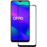 Защитное стекло 2.5D CP+ (full glue) для Oppo A91 / Oppo Reno 3