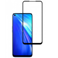 Защитное стекло 2.5D CP+ (full glue) для Realme 7 Pro