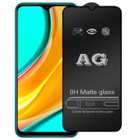 Защитное стекло 2.5D CP+ (full glue) Matte для Xiaomi Redmi 9 / Poco M3 / Note 9 4G / Redmi 9T