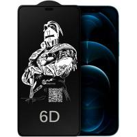 """Защитное стекло King Fire 6D для Apple iPhone 12 Pro Max (6.7"""") (тех.пак)"""