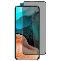 Защитное стекло Privacy 5D (full glue) (тех.пак) для Xiaomi K30 Pro/Mi 10T Lite/Note 9 Pro 5G/Mi 10i