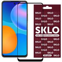 Защитное стекло SKLO 3D (full glue) для Huawei P Smart (2021)