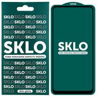 Защитное стекло SKLO 5D (full glue) для Oppo A54 4G