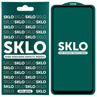Защитное стекло SKLO 5D (full glue) для Oppo A74 4G