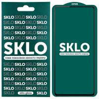 Защитное стекло SKLO 5D (full glue) для Realme 7 Pro