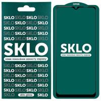 Защитное стекло SKLO 5D (full glue) для Samsung Galaxy A12 / A32 5G