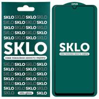 Защитное стекло SKLO 5D (full glue) для Samsung Galaxy A32 4G