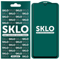 Защитное стекло SKLO 5D (full glue) для Samsung Galaxy A52 5G