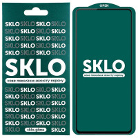 Защитное стекло SKLO 5D (full glue) для Samsung Galaxy A72 4G