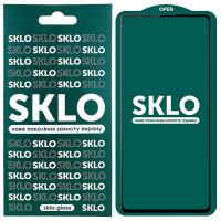Защитное стекло SKLO 5D (full glue) для Samsung Galaxy S21