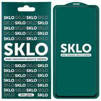 Защитное стекло SKLO 5D (full glue) для Xiaomi Redmi Note 9 Pro 5G