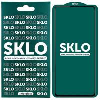 Защитное стекло SKLO 5D (full glue) для Xiaomi Redmi Note 10 / Note 10s
