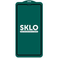 """Защитное стекло SKLO 5D (full glue) (тех.пак) для Apple iPhone 11 Pro Max (6.5"""") / XS Max"""
