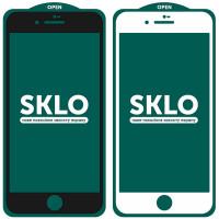 """Защитное стекло SKLO 5D (full glue) (тех.пак) для Apple iPhone 7 / 8 / SE (2020) (4.7"""")"""