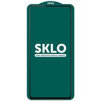 Защитное стекло SKLO 5D (full glue) (тех.пак) для Oppo A74 4G