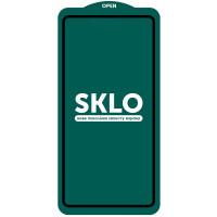 Защитное стекло SKLO 5D (full glue) (тех.пак) для Realme 7 Pro