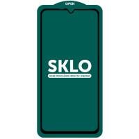 Защитное стекло SKLO 5D (full glue) (тех.пак) для Samsung Galaxy A10 / A10s / M10