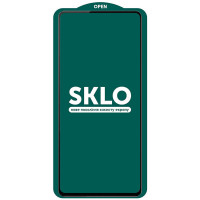 Защитное стекло SKLO 5D (full glue) (тех.пак) для Samsung Galaxy S20 FE