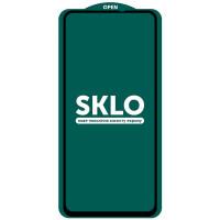 Защитное стекло SKLO 5D (full glue) (тех.пак) для Xiaomi Poco X2