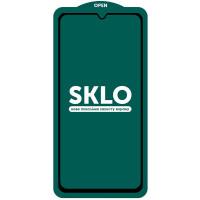 Защитное стекло SKLO 5D (full glue) (тех.пак) для Xiaomi Redmi Note 10 / Note 10s